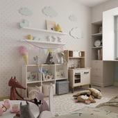 Детская комната двух девочек