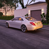 Mercedes-Benz Class S S500 4Matic MAYBACH (sunset)
