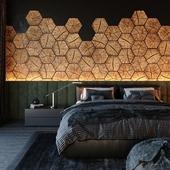 Black & Wood bedroom