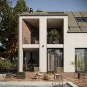 Проект индивидуального жилого дома.