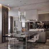 Apartment in Dushanbe, Kitchen