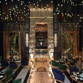 Art-deco restaurant design
