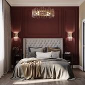 Спальня в ЖК Наследие