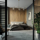 Modern interior,Corona render