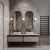 Bathroom artdeco