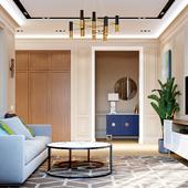 Дизайн квартиры в Астане в жк crocus syti