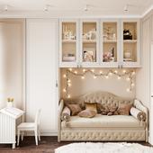 Визуализация детско комнаты