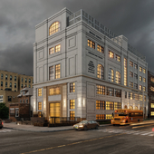 Renovation of the facades of a historic building  in NY
