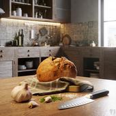 Various Loft-Сhalet Kitchen Designs