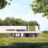 Green Line House (сделано по референсу)