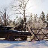 Mad Max зима пришла..