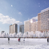 Residential complex in Kyiv.  New Avtograf