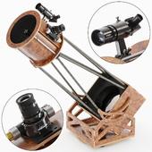 Любительский 250 мм. телескоп на монтировке Добсона.
