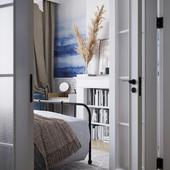 Акварельная спальня