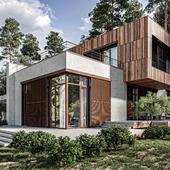 AP|Box House (сделано по референсу)