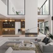 Загородный дом в стиле Modern (сделано по референсу)