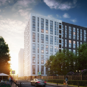 Визуализация апартаментного комплекса Level Донской