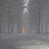Настроение снег
