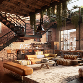 Rock-n-roll apartment