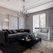 Warm classic badroom