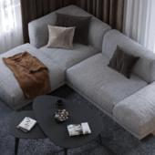 Дизайн интерьера 3-комнатной квартиры в ЖК Макаровский квартал, г. Екатеринбург