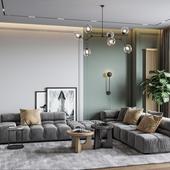 Ap|Tolstogo - Living room