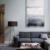 Дизайн квартиры с очень высокими потолками