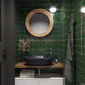 Дизайн прихожей и санузла в частном доме