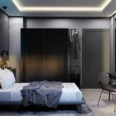 Dark Teen Bedroom