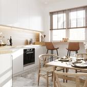 Design|Visualization kitchen