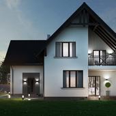 Visualization of a private home