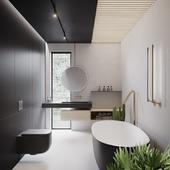 Bathroom unit interior (сделано по референсу)