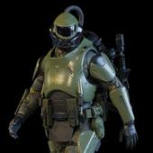 Military Exoskeleton R-30