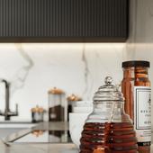 Визуализация кухни-гостиной. Текущий проект.
