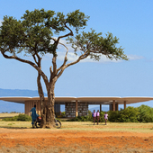 Library in Kenya
