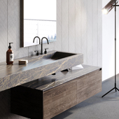 Bathroom furniture design and visualization