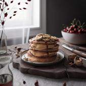 Pancakes still life