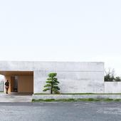 Concrete house (сделано по референсу)