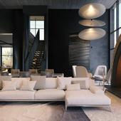 Дом 1500 кв.м. в современном стиле