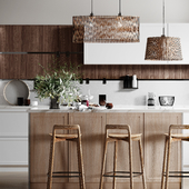 """Design project of apartment """"Nature Inspiration"""""""