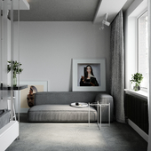 Apartment for an Architect Student