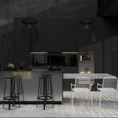 Дизайн кухни/гостинной