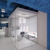 Optimedia office (сделано по референсу)