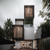 compressed house