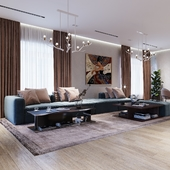 Eclectic style with modern accent