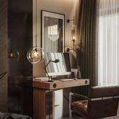 Loft Hotel Room