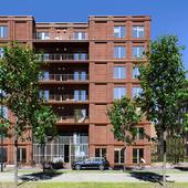 Loftwonen Strijp-S / architecten|en|en. Exterior visualization by reference. (сделано по референсу)