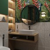 Ванная комната Tropical / Bathroom tropical