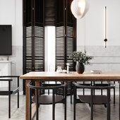 Кухня-гостиная, 49 кв.м.