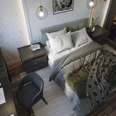 Bedroom - Corona render